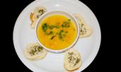 10 начина да украсим и сервираме крем супа