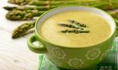 Супа с аспержи и сметана