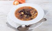Вегетарианска супа с черен боб