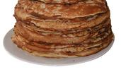 Палачинки с шипково брашно и овесени ядки