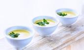 Лесна картофена крем супа с парченца моркови