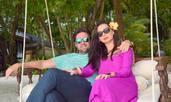 Наталия Кобилкина стяга сватба на гръцки остров