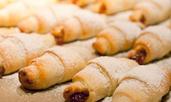 Орехови кифлички със сладко