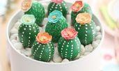 Как да си направите великденски яйца като кактуси