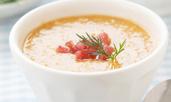 Супа с картофи и пушен бекон по рецепта на Гордън Рамзи