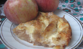 Баница с ябълки