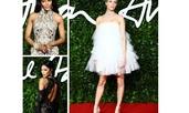 Празнична визия, вдъхновена от Британските модни награди