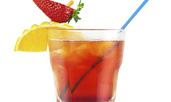 Коктейл мексиканска ягодова вода
