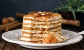 5 рецепти за бисквитена торта