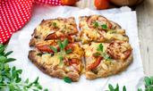 Пълнозърнеста основа за пица