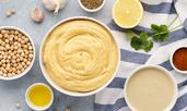 Хумус с чесън