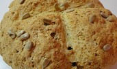 Содена питка с 3 вида брашно