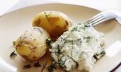 Разядка със сирене котидж