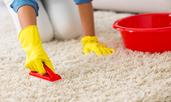 Ефективни домашни средства за почистване на килим