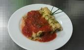 Канелони със спанак, булгур и сирене