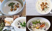 Рецепти за топла супа с гъби