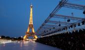 Ив Сен Лоран с блестяща колекция под Айфеловата кула