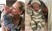 Енрике и Анна показаха близнаците за пръв път