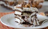 Торта със сладоледени сандвичи