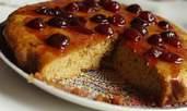 Бадемова торта със сладко