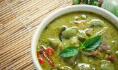 Спаначена чили супа със свинско