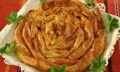 Вита баница със сирене и майонеза