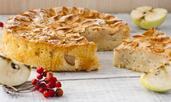 Здравословен кекс с ябълки и брашно от лимец