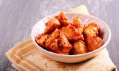 Глазирано пилешко с мед, пипер и соев сос