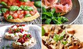 13 рецепти за хрупкави брускети
