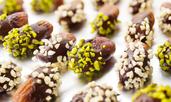 Фурми с ядки и шоколад