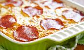 Пица-лазаня с чоризо