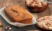 Какаов кекс с лешници и масло