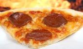 Лесна пица пеперони