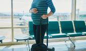 Съвети за летене със самолет по време на бременност