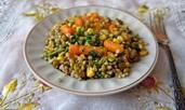 Каша от гречка със зеленчуци