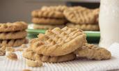 Бисквити без брашно с фъстъчено масло