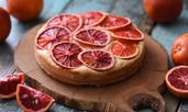 Кекс с червен портокал и зехтин