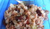 Мусака с ориз и боб
