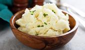 Картофено пюре с пармезан и чесън