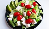 Трикове за диетични и вкусни салати