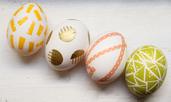 Декориране на великденски яйца без боя