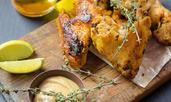 Хрупкави пилешки крилца с мед и лайм