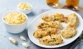 Пилешки хапки с пармезан и чесън