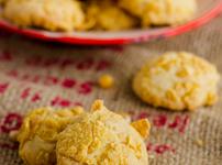 Кокосови бисквити с корнфлейкс и овесени ядки