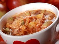 Зеленчукова супа с кисело зеле