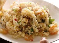 Бърза рецепта за пържен ориз със скариди