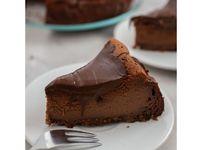 Шоколадов чийзкейк със сметана без печене