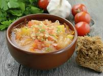 Постна супа със зеле