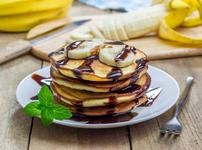 Палачинки с банани и ленено семе