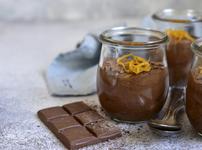 Лесен мус с шоколад и портокал